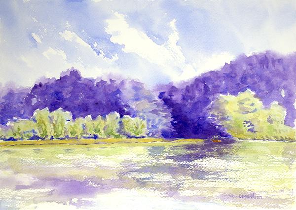 Griffy Lake, May