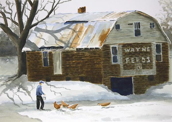 Wayne Feeds Barn