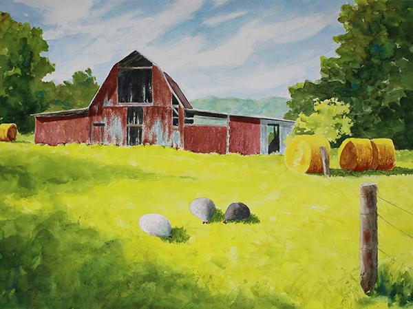 SOLD Thompson's Barn