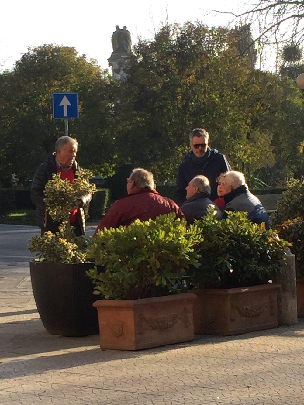 Locals in Lucignano.JPG