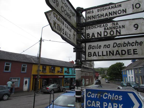 Fun with Irish road signs!