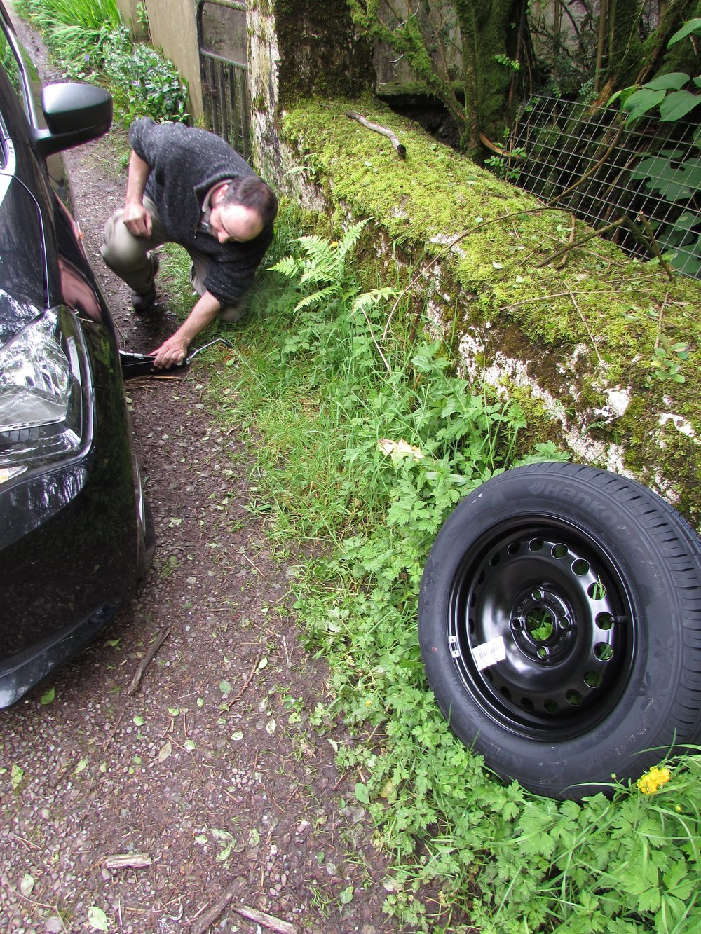 A flat tire can slow you down, but it doesn't have to derail a whole trip together.
