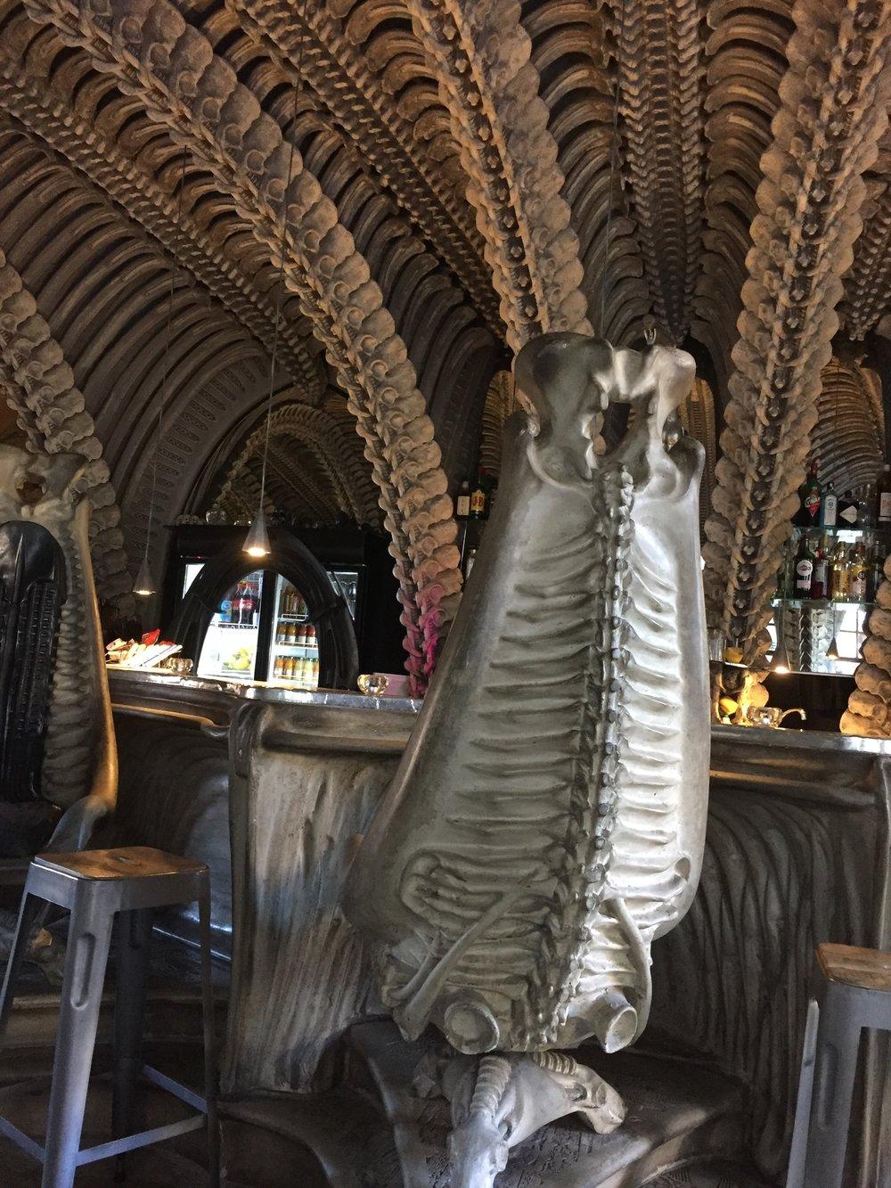 Inside the Giger Bar