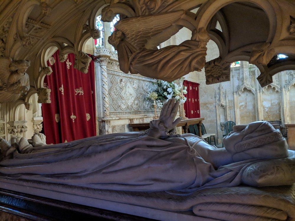 Queen Katherine Parr's Tomb