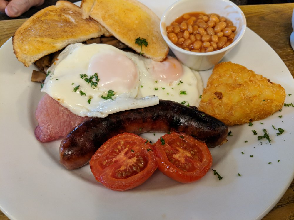 Full English at the Priory