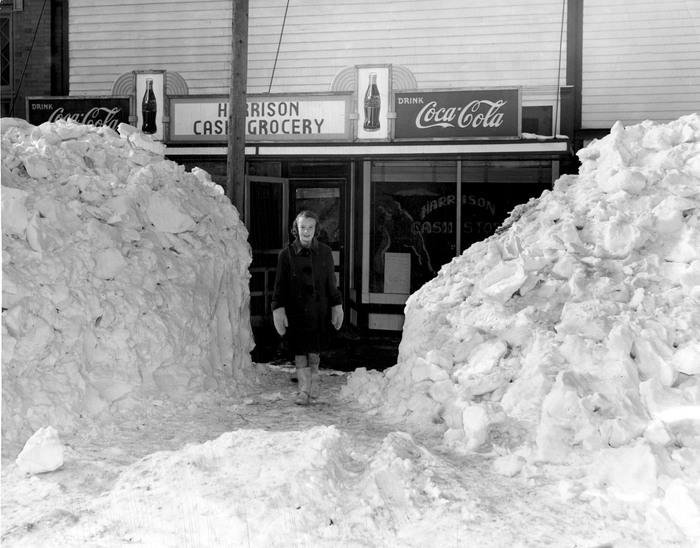"""I  wish global warming was real!"" American Greta Harrison said from her shop in Manhattan."