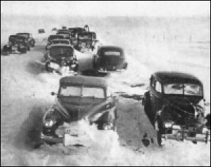 If global warming is real, why are all these cars currently snowed-in on Chicago's Lake Shore Drive, hmmm?
