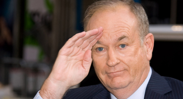 """I'm up to here in pussy,"" O'Reilly said recently."
