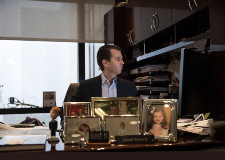 """""""I've looked everywhere,"""" a perplexed Don Jr. said from his office in Trump Towere."""
