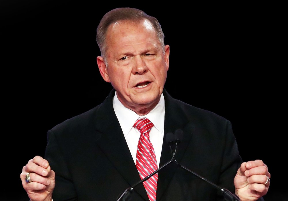 """Hehehe, this is all part of God's plan,"" Moore said Thursday."