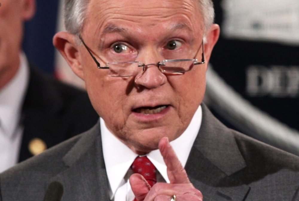 Buzzkill Jeff Sessions is bringing us all down, man.
