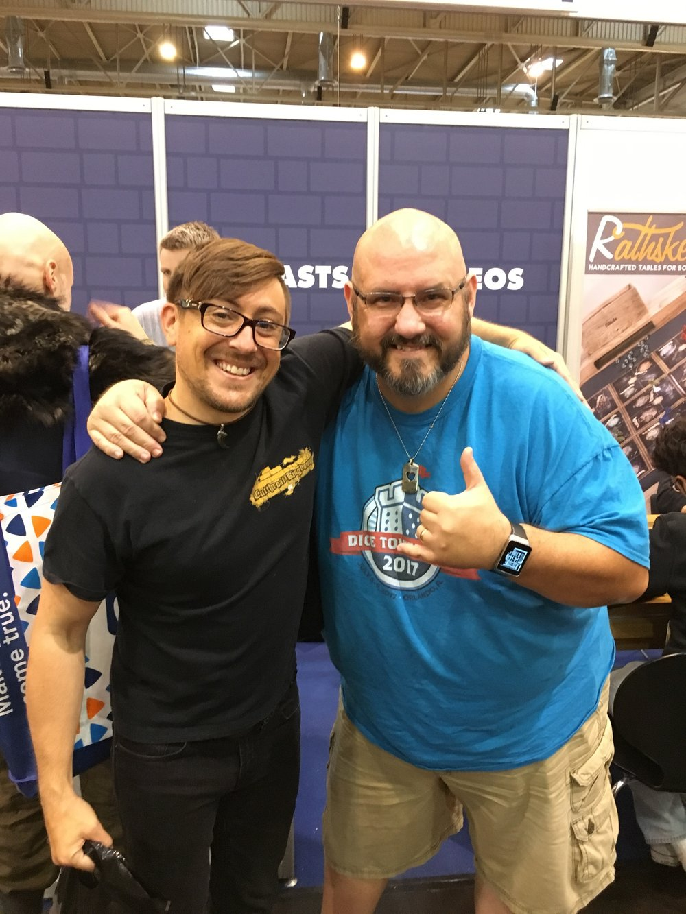 Special thanks to Sam Healey, of The Dice Tower for his early enthusiasm for the game, and his help to set Cutthroat Kingdoms at the 49th best game (of all time)!