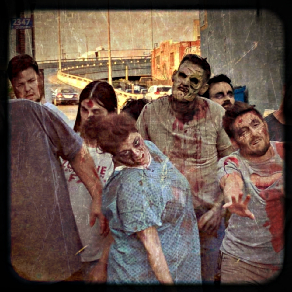 Being a zombie: Outbreak: Undead RPG Photoshoot! — Bryan Merlonghi