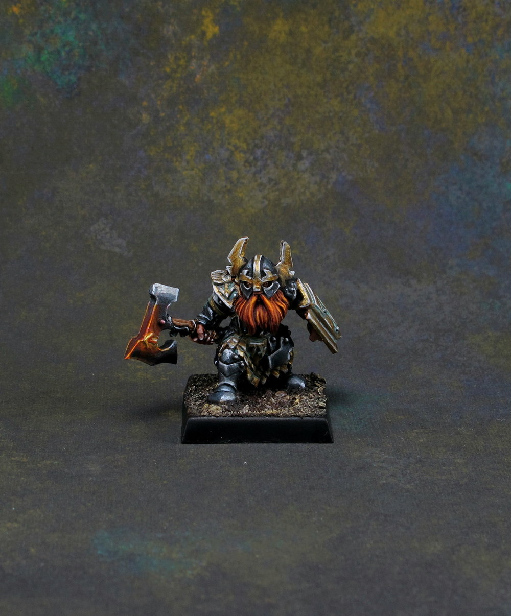 Commission Work and Award-Winning Miniature