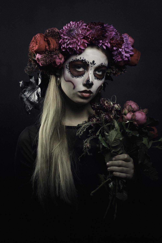 609d2234e Day of the Dead Flower Crowns — KITTEN GRAYSON FLOWERS