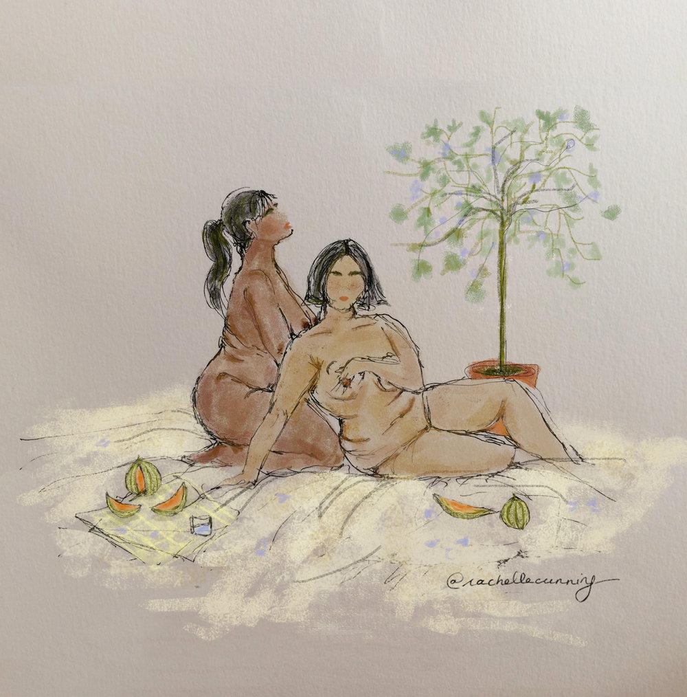 Nudes. August'18.Paris.FR