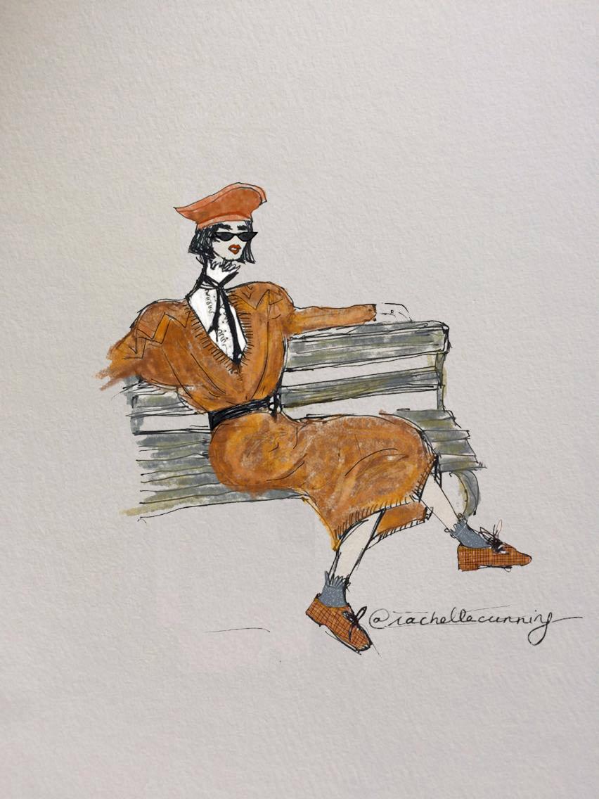 """""""Promenade"""". August'18.Paris.FR   (print available)"""