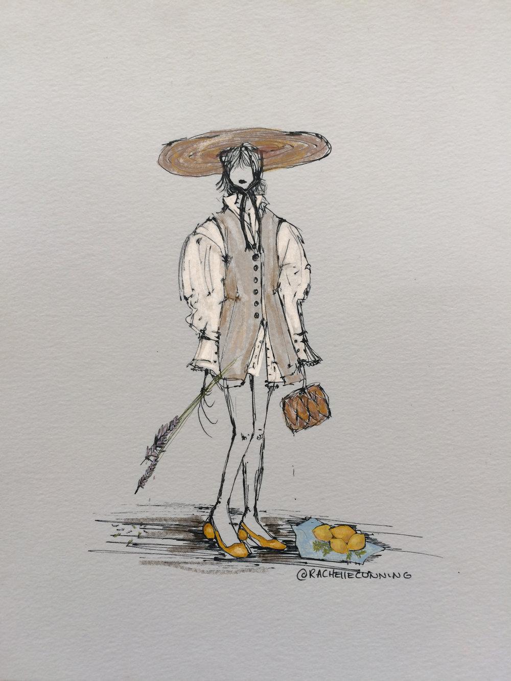 Citron. Jacquemus. July'18. Paris. FR   (print available).