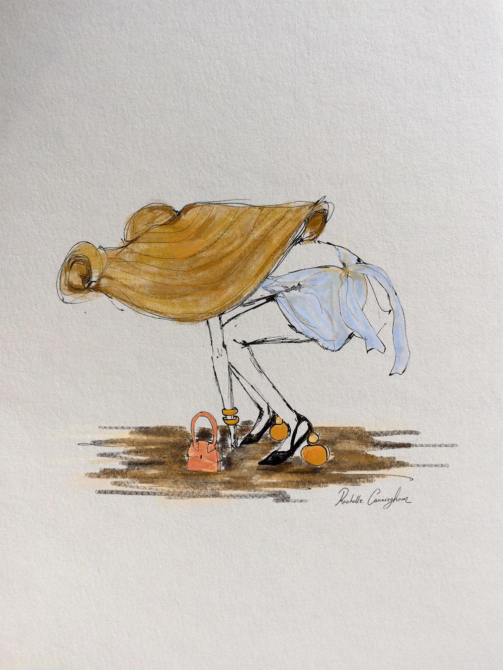 La Bomba. Jacquemus. July '18. Paris. FR   (print available)