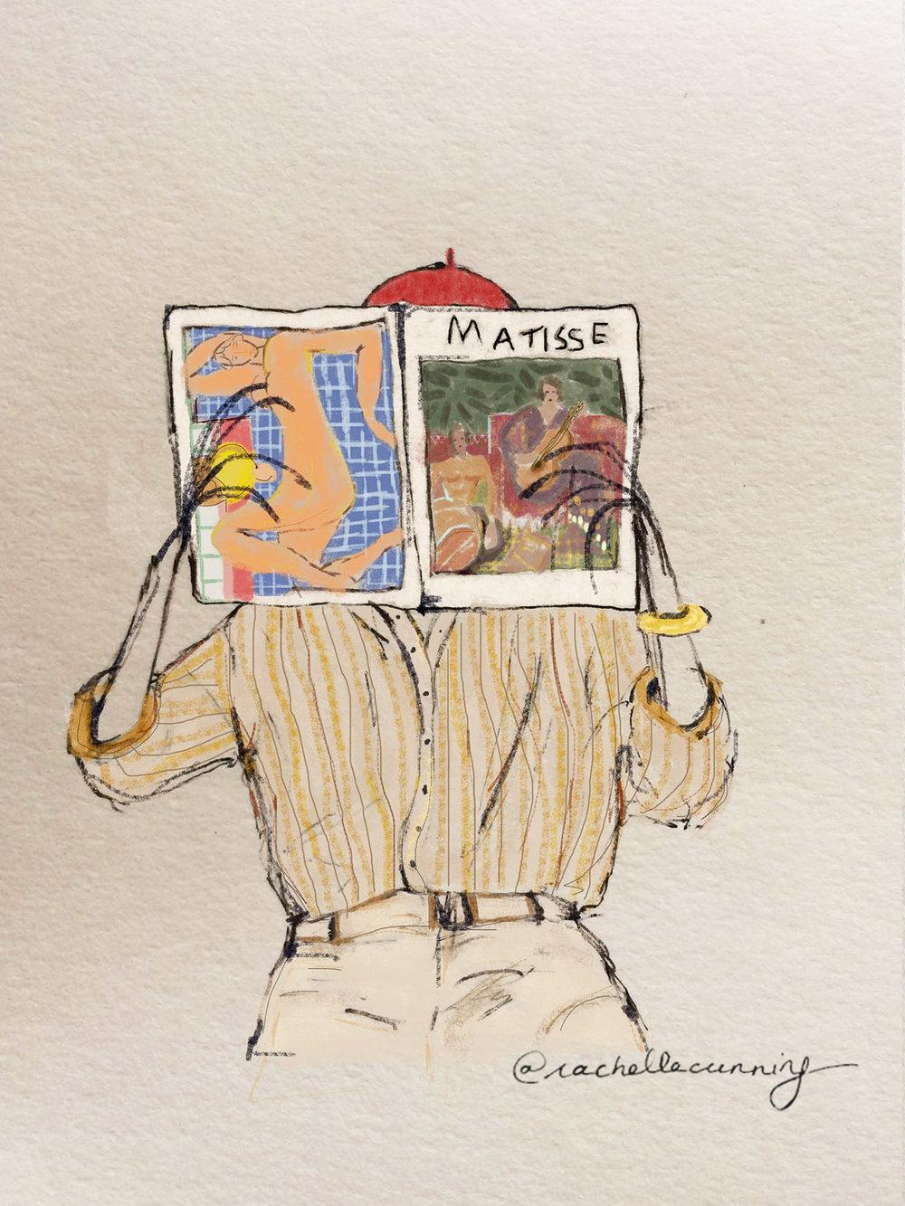 Matisse & Me . March '18. Paris. FR.     (print available)