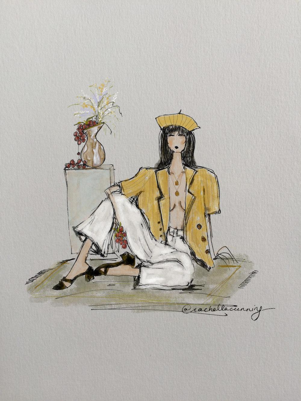Shop The Break. August '18.Paris.FR.  (print available)