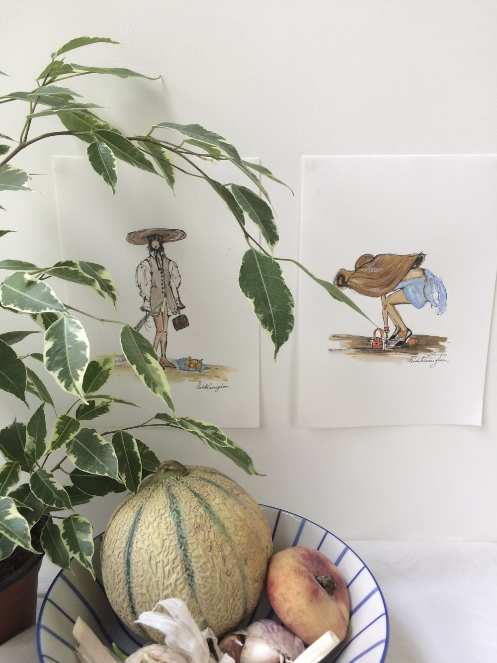 Lavande & La Bomba prints.