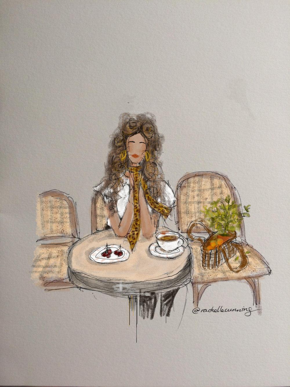 """""""Leopard Print"""". August '18. Paris. Fr (print available)"""