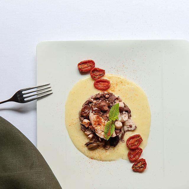 Un classico nostro per il weekend: il Polpo! • • • #reteodorico #ristorante #verona #italy #polpo #seafood #secondo #weekend #foodporn #food #foodphotography