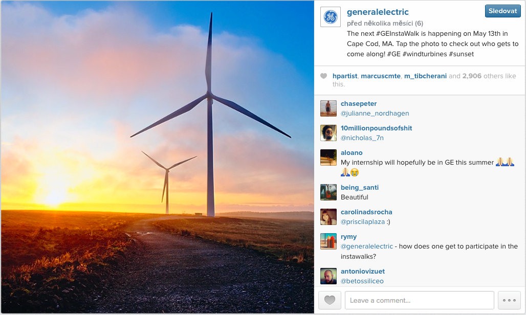 Marketing — General Electric on Instagram