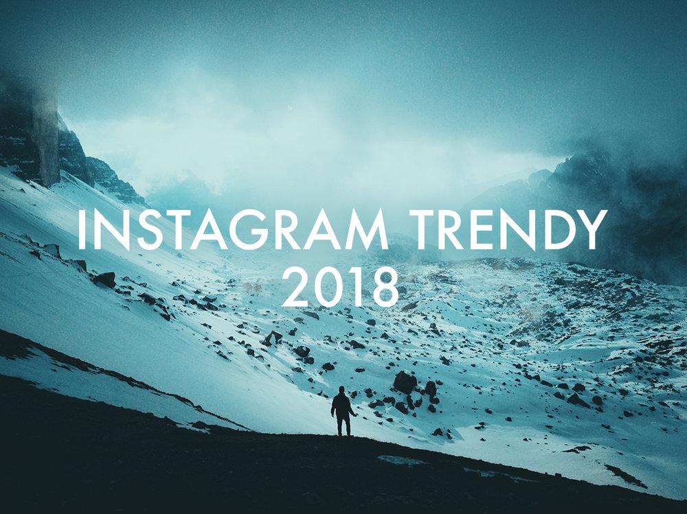 Instagram Trendy Pro Rok 2018 Co Ocekavat A Na Co Se Tesit Hynek
