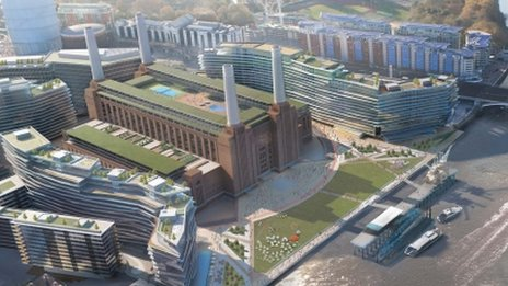 The Parish of battersea fields is home to one of london's iconic redevelopments - battersea power station