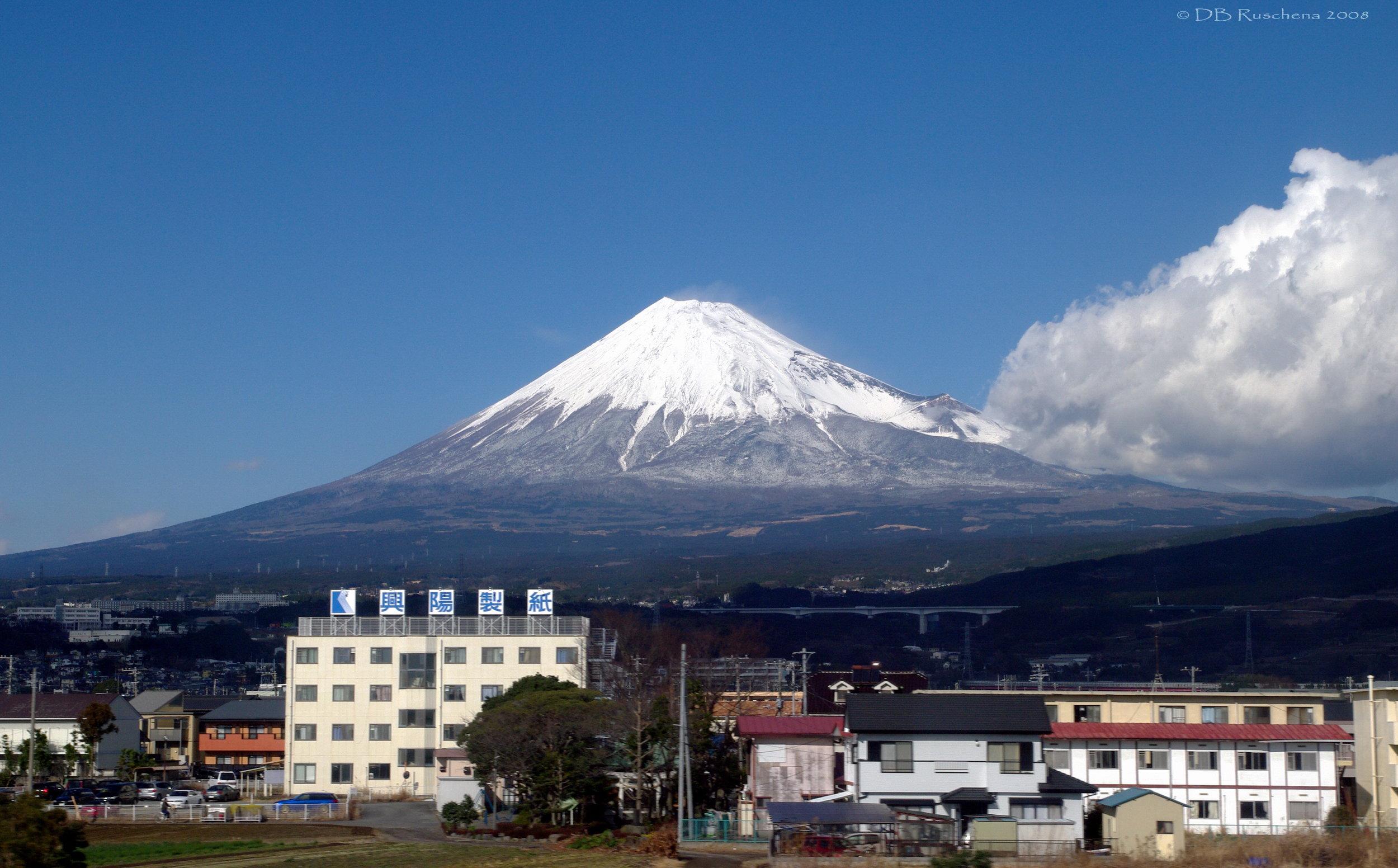 Industrial Fuji en route to Tokyo
