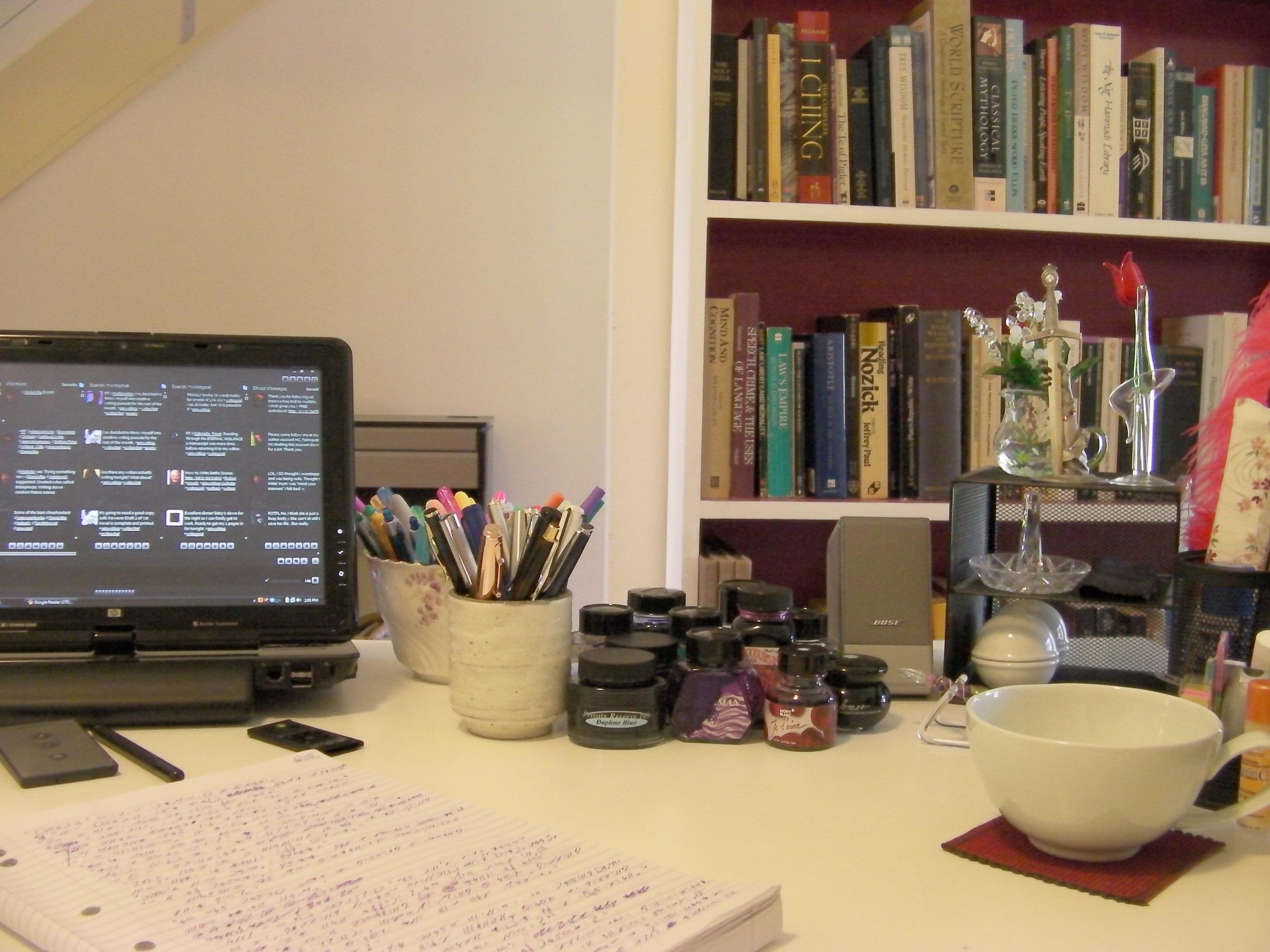 The low tech desk