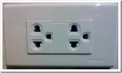 Bangkok socket