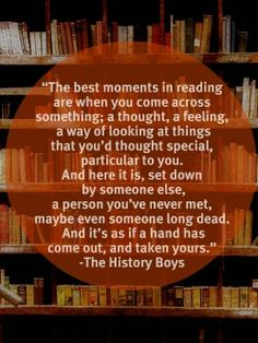 best moments in reading