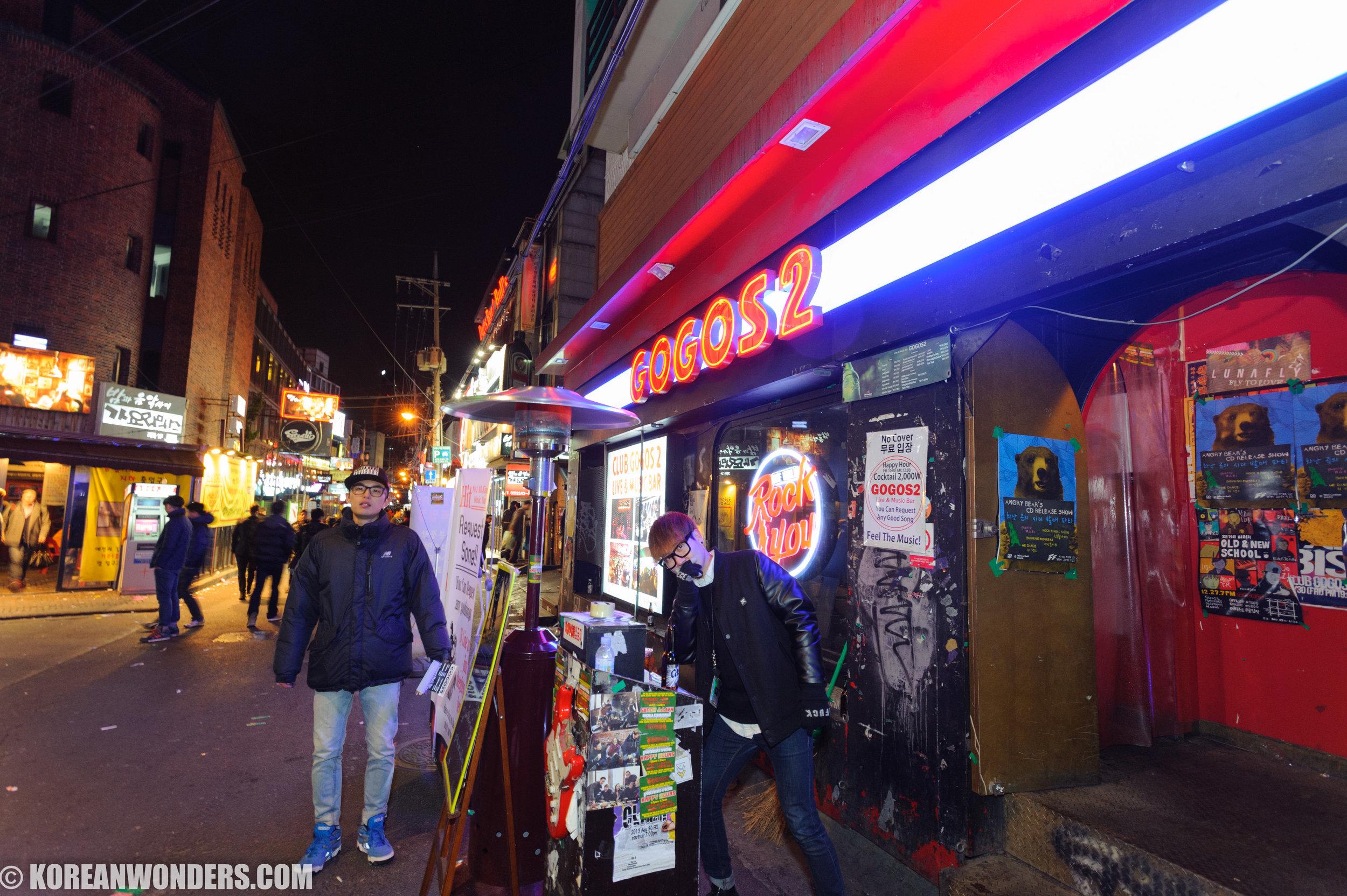 Gogos 2, Hongdae