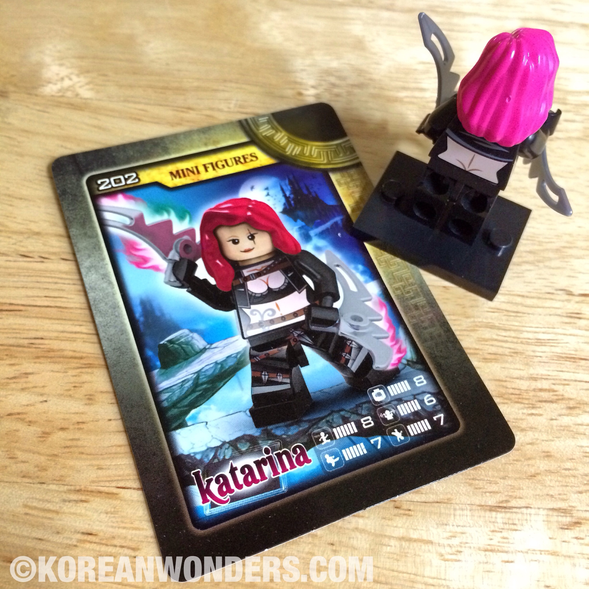 Katarina LOL Mini figure