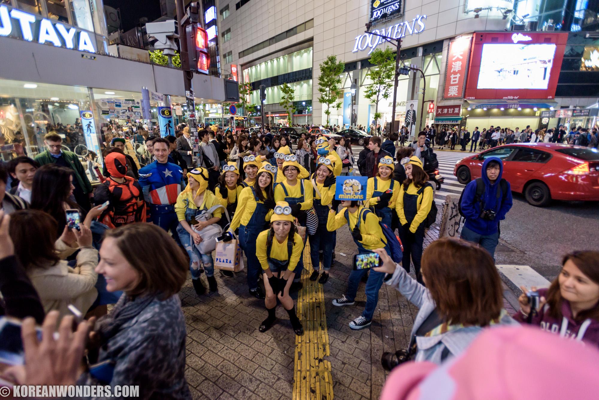 Pre-Halloween Event in Shibuya, Tokyo - 2015.10.30 (Fri)