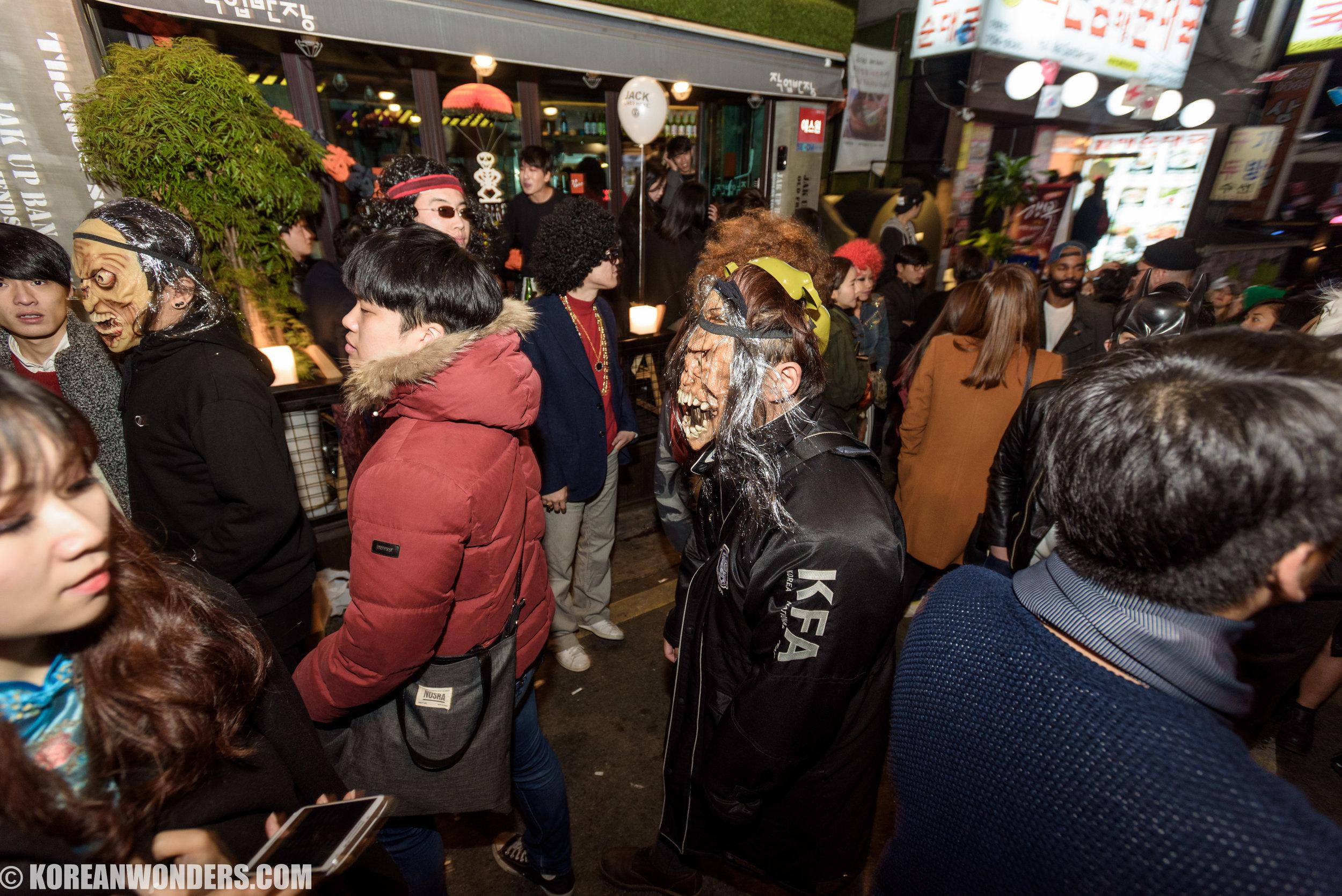 Halloween in Itaewon - 2015.10.31 (Sat)