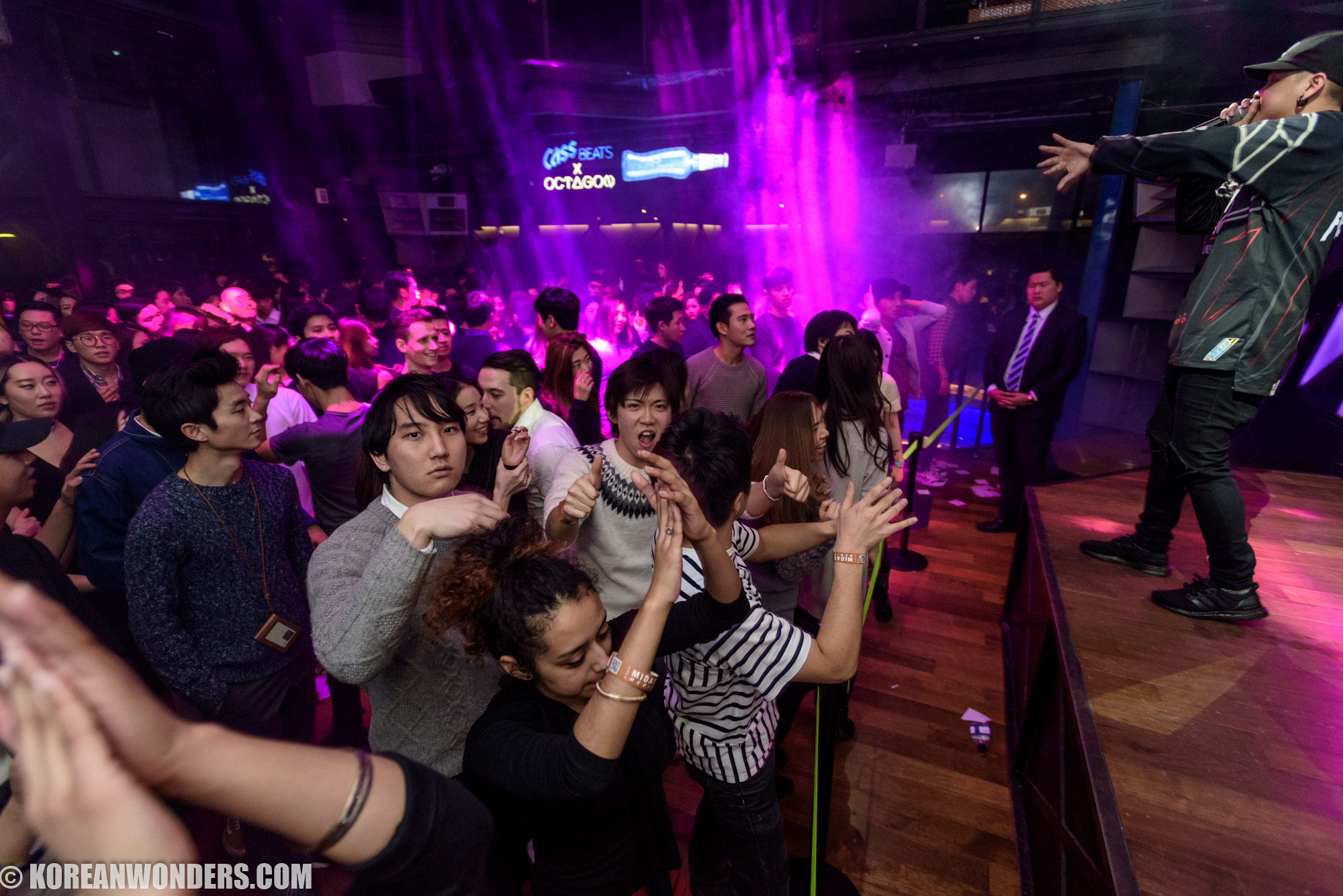 Party at Club Octagon - 2016.01.30 (Sat)