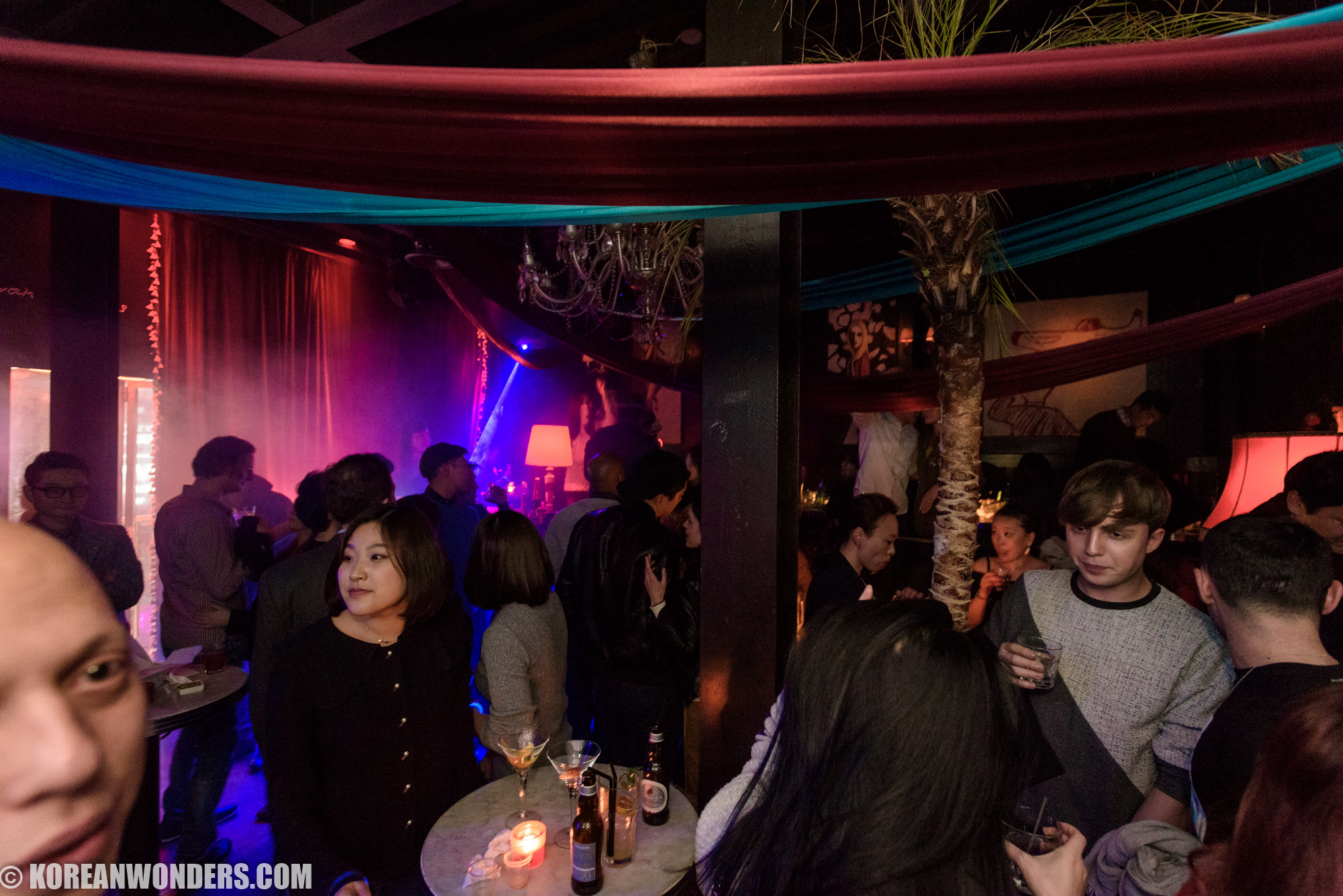 Jackie's Birthday Party 2016 at Globe Lounge Itaewon