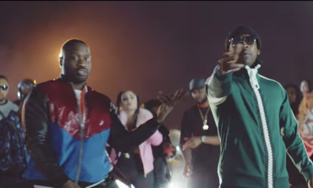 Lethal bizzle   pANELLED BOMBER JACKET FOR 'I WIN' VIDEO FEAT. SKEPTA