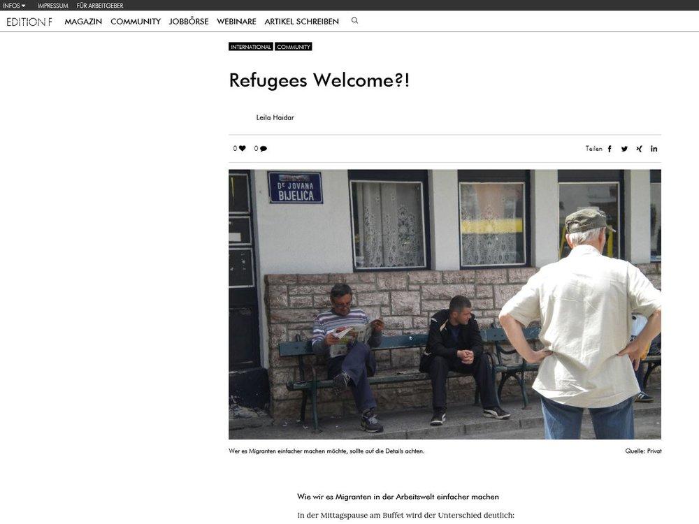 https://editionf.com/Refugees-Welcome