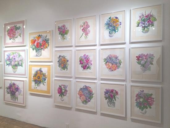 """Gallery Views of 2014 """"Garden Sprits, Garden Dreams"""" Show"""