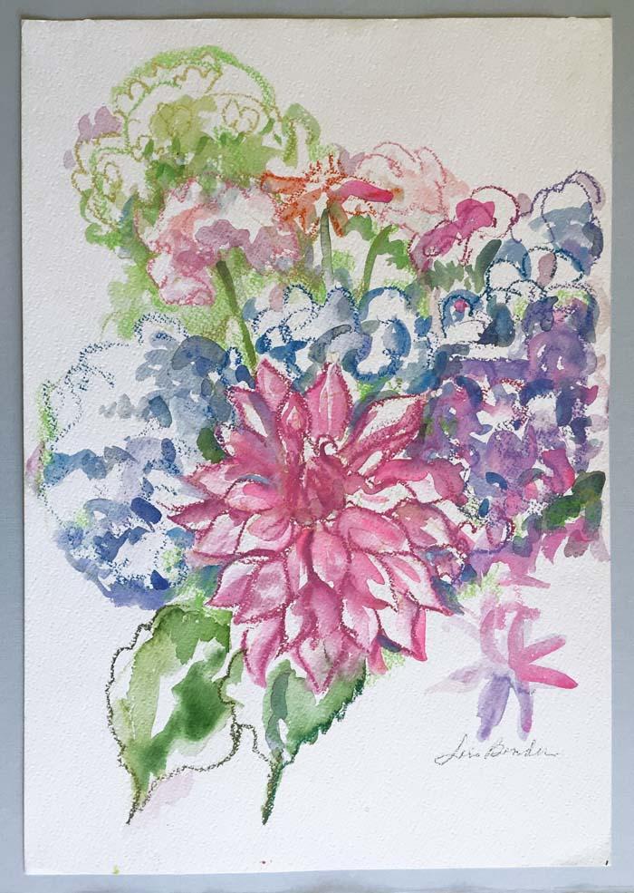 """""""Dahlia Medley Summer Bouquet"""""""
