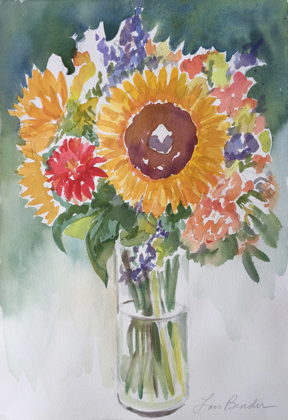 Sunflowers Bouquet III