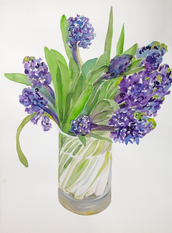 """""""Hyacinths Bouquet I"""""""