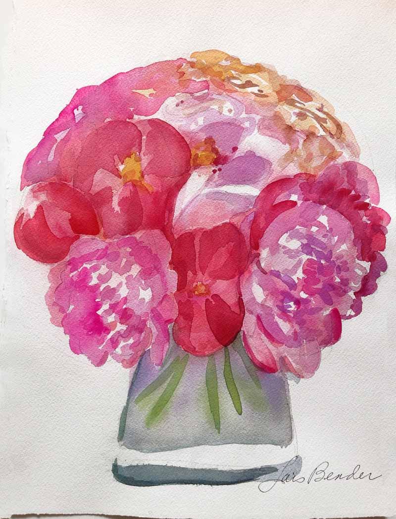 """Flora's Peonies"""