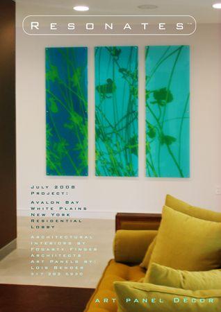 Blue Grasses Installation
