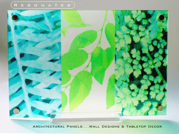 Three Leaf,Resin Panel